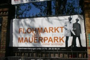 Der Flohmarkt am Mauerpark - ein guter Ort um alte Klamotten loszuwerden