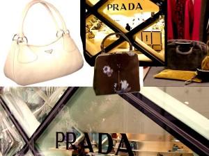 Modische Prada Handtaschen
